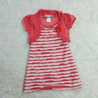 (3t) Speechless peach bodycon dress