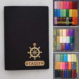Custom passport cover personalised passport holder passport case travel