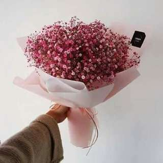 Baby Breath Bouquet Delivery Surprise Gifts/ flower bouquet