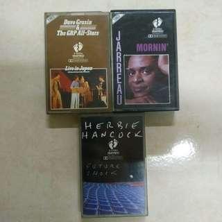 Jazz Music Cassette Tapes Kaset
