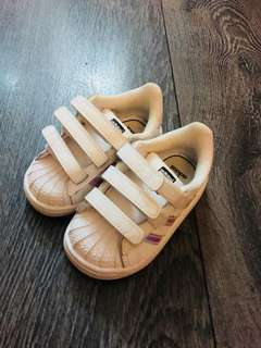 Adidas baby shoes size 5