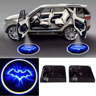 LED Car Door Welcome Projector (Batman Pattern Courtesy Ghost Shadow Light)