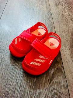 Adidas baby girl shoes size 5