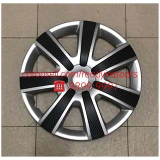 Toyota Hiace - Nissan NV200 - Nissan NV350 - Mitsubishi Van Universal Wheel Rim With Carbon Design Cover / Toyota - Nissan Accessories