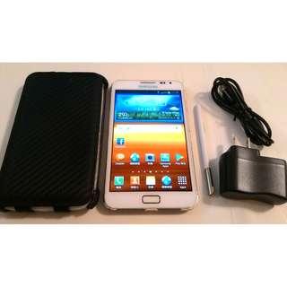 <二手良品螢幕無刮傷>SAMSUNG GALAXY Note N7000 5.3吋 安卓4.1 八百萬相機 只要1300
