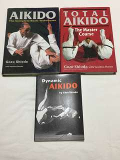 Set of 3 Yoshinkan Aikido Books