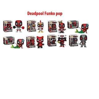 Deadpool Funko Pop Ft. King,Chimichanga, Mermaid, Samurai, Cheerleader, Panda suit, Chicken suit
