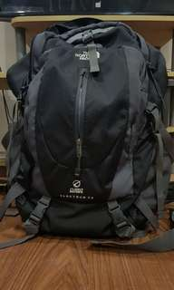 The North Face hiking back pack