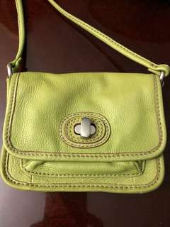 FOSSIL Mini turnlock crossbody