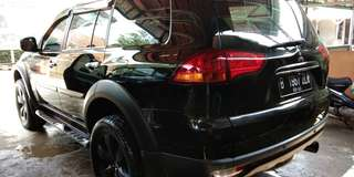 Pajero exceed gress on