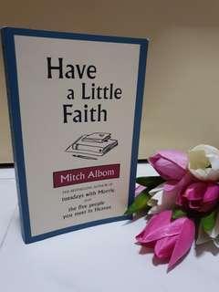 Mitch Albom - Have a Little Faith 🙏