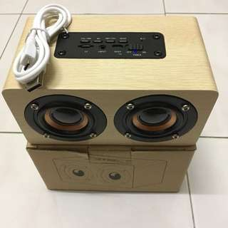 Wooden Bluetooth Speaker