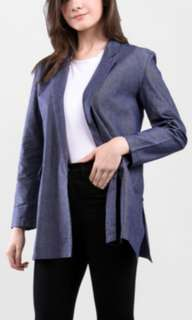 ADA FASHION DENIM BLAZER / KARDIGAN NAVY
