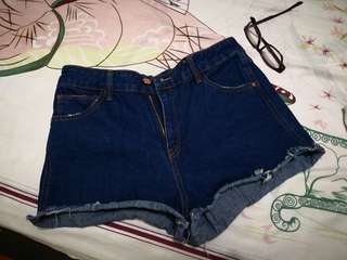 Stradivarius denim shorts