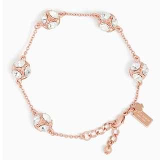 Kate Spade Lady Marmalade Bracelet (Rose Gold)