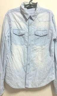 Pre-loved stuff!! Denim longsleeves shirt