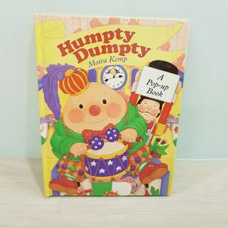 Children Story Book - Humpty Dumpty Pop-Up