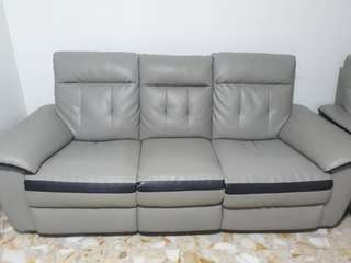 3+2 seater leather chair
