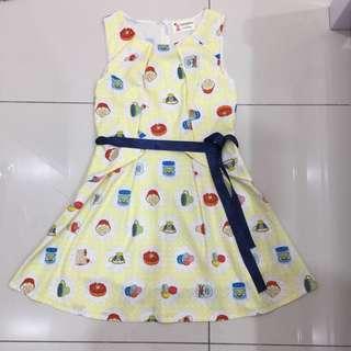 Closetmino pastel yellow dress