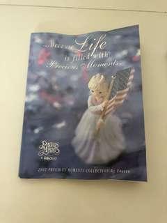 2002 Precious moments collector book