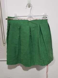 Pastel Green Mini Skirt