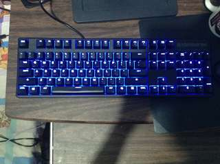 SteelSeries Apex M500 mechanical gaming keyboard with backlight mx Red