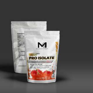 MUSCLE FIRST PRO GOLD WHEY PROTEIN ISOLATE GUAVA ROSCHA 2LBS 29SERV