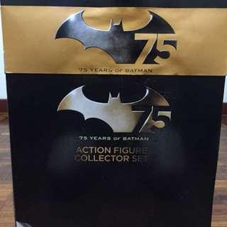 Batman 75th Anniversary Action Figure 4 Pack