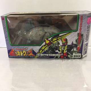 Transformers Beast Wars Dinobot Dinosaur Stegosaurs In Box Good Condition D-30 Destoron