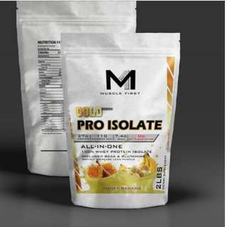 MUSCLE FIRST WHEY PROTEIN ISOLATE WPI LEBIH BAGUS DR DYMATIZE ISO 100