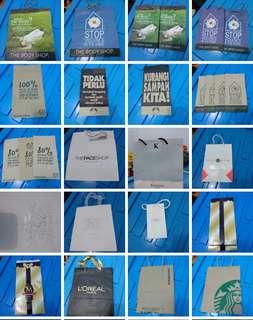 [Nego/barter] Paper bag tas kertas