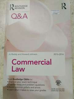 Commercial Law Routledge Q&A Commercial Law 2013-2014