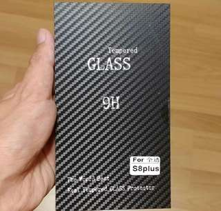 Samsung S8+ S8 Plus Tempered Glass Screen Protector