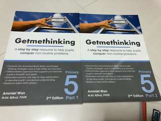 Brand New P5 GetMeThinking books Part 1& 2 for sale!