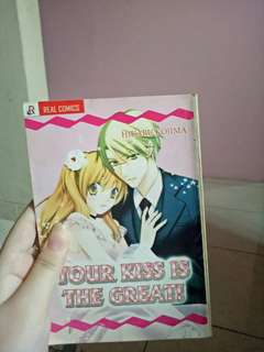 Komik your kiss is the great