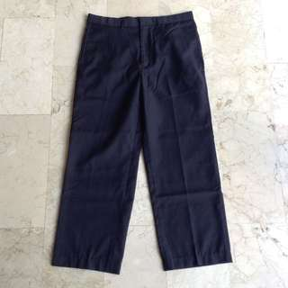 Andrew Fezza Plain Black Slacks Pants for Men