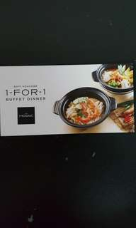Carlton Hotel 1-For-1 Buffet Dinner Voucher