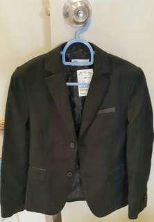 Original H & M black blazer jacket coat