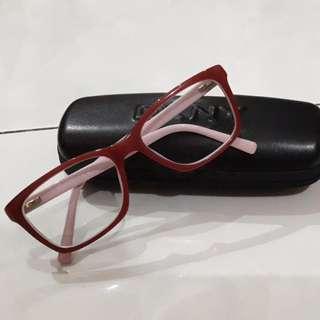 Preloved kacamata minus DKNY ori