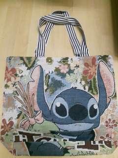 Hongkong Disneyland Lilo & Stitch Tote Bag