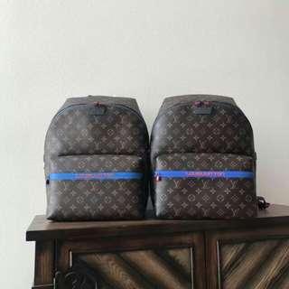 Prada/普拉达 拼色设计男士系带运动鞋