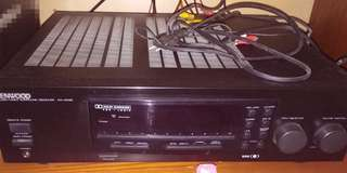 Kenwood speakers and audio video surround receiver