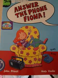 Pick up the phone Fiona