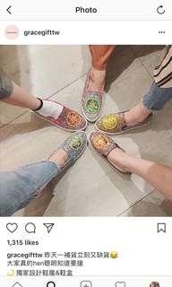 🚚 美少女戰士寶石鞋(紫紅款)