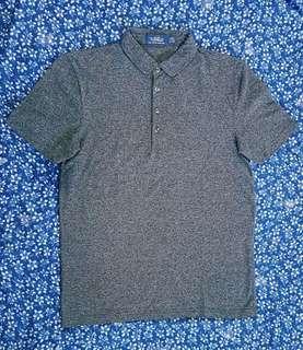 Topman | black/dark-gray polo shirt