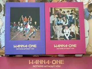 WANNA ONE wanna one Wanna one 簽名專輯1-1=0