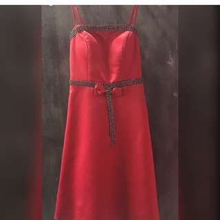 Dress Party Red