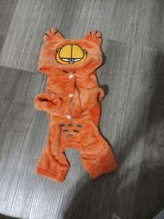 🚚 【全新】加菲貓寵物衣