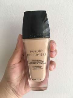 Guerlain Parure De Lumiere Light Diffusing Fluid Foundation SPF 25