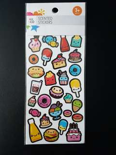 BN Food Scented Stickers